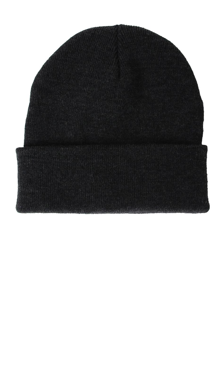 Zimní čepice BASIC 4100 ANTHRACITE Herman