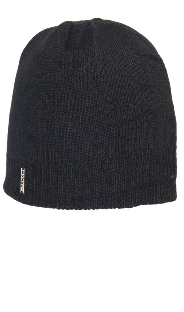 Zimní čepice Herman BASIC 4145 NOIR