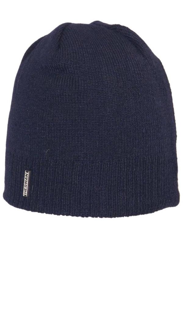 Zimní čepice Herman BASIC 4145 MARINE