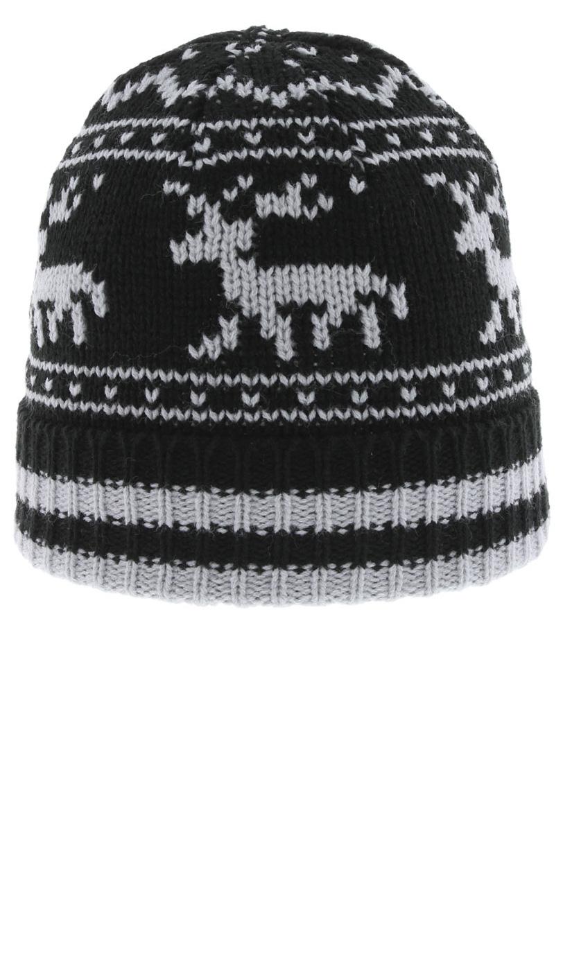 Zimní čepice B-4152 NOIR Herman