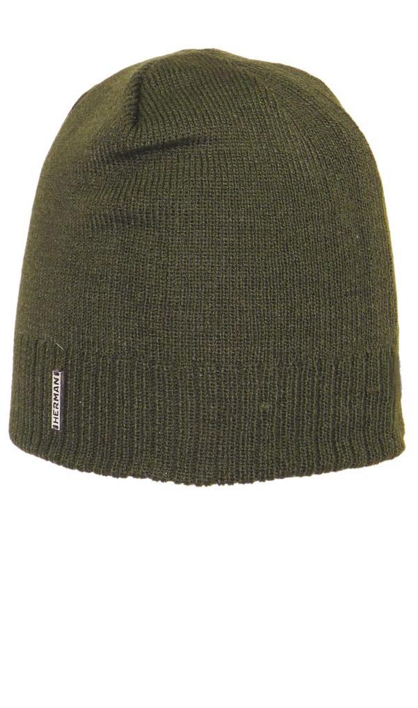 Zimní čepice BASIC 4145 KHAKI Herman
